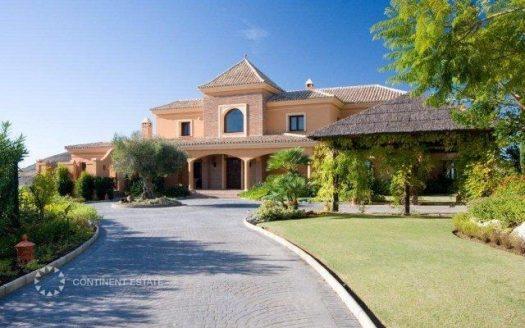 Элитная вилла на продажу в Испании (Коста-дель-Соль — Marbella Club Golf Resort)