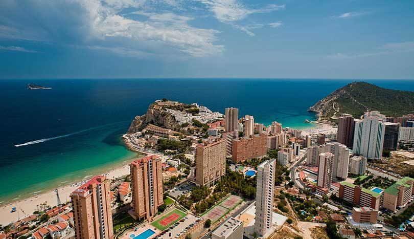 Недвижимость в испании у моря коста бланка погода
