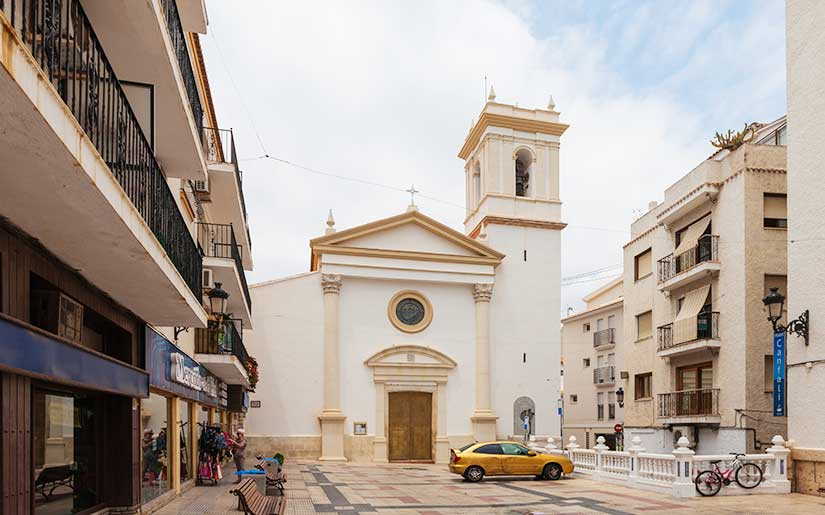 Достопримечательности - Церковь Святого Хайме - Бенидорм