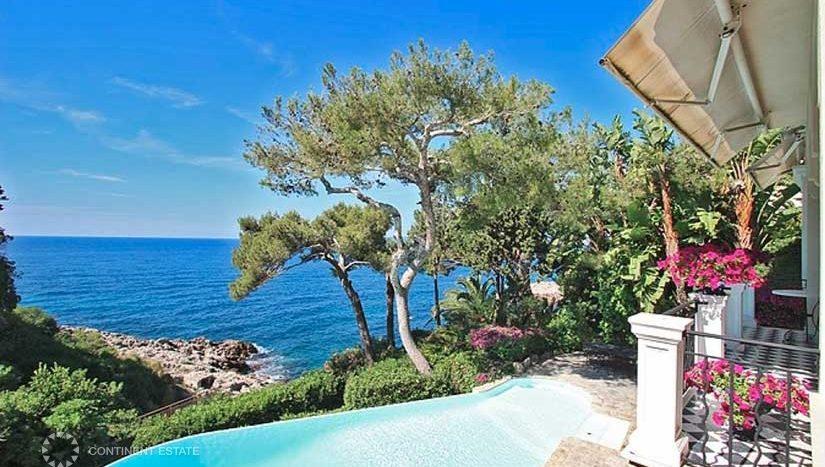 Элитная вилла рядом с морем во Франции (Лазурный Берег — Cap-d'Ail)