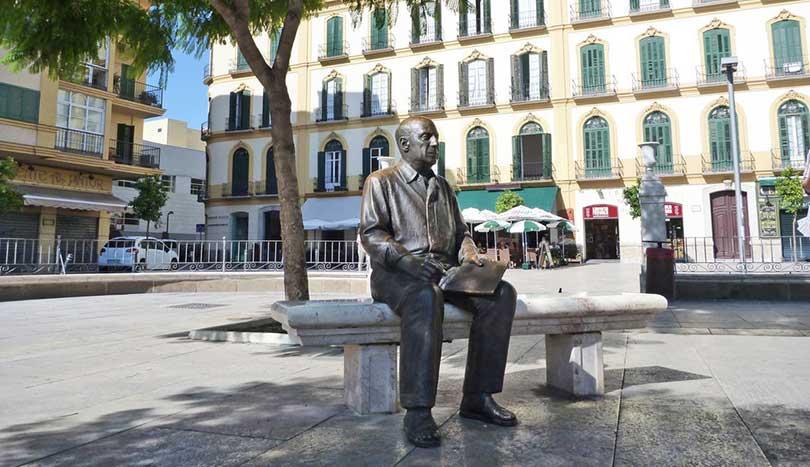 Памятник Пабло Пикассо, Малага (Málaga)