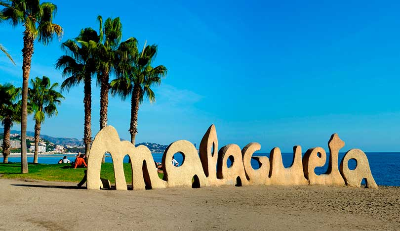 Playa de La Malagueta, Малага (Málaga)