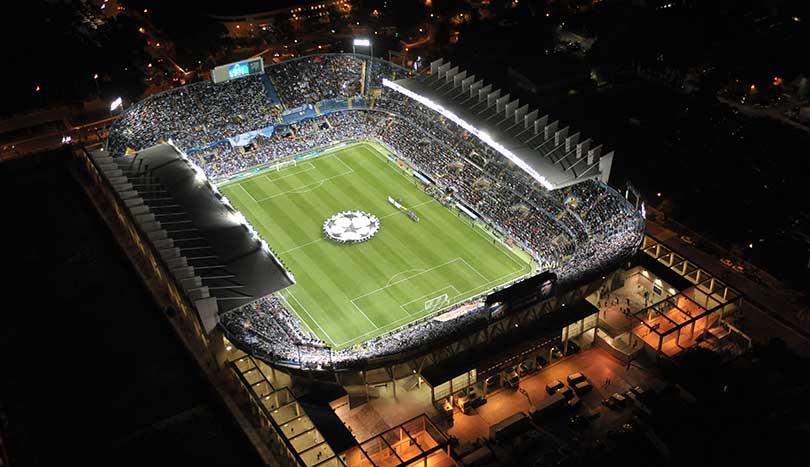 Футбольная арена, Малага (Málaga)
