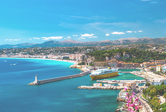 Недвижимость на Лазурном Берегу (Франция)