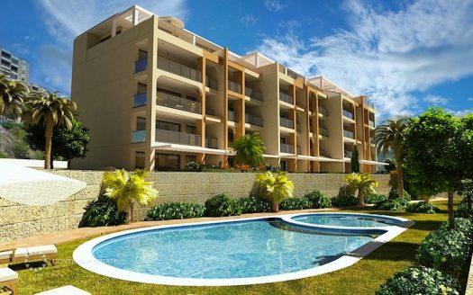Новостройка, новые апартаменты у моря на продажу в Испании (Коста Бланка — Villajoyosa)
