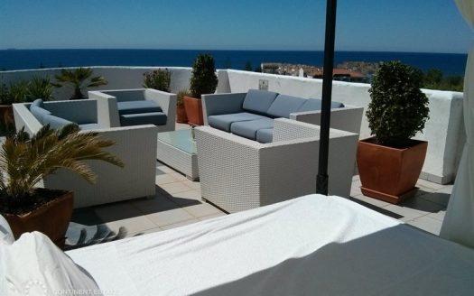 Просторный пентхаус с видом на море в аренду в Испании (Коста-дель-Соль — Marbella)