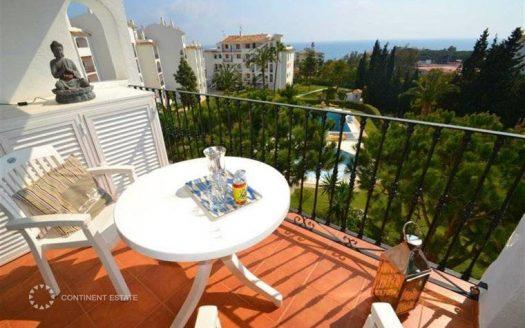 Апартамент с видом на море в аренду в Испании (Коста-дель-Соль — Mijas Costa)