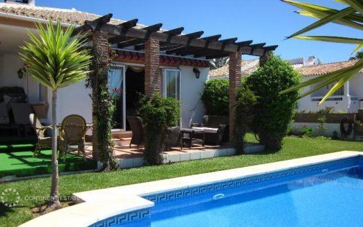 Вилла с видом на море в аренду в Испании (Коста-дель-Соль — Mijas Costa)