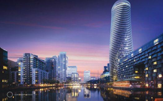 Апартаменты в новостройке на продажу в Великобритании (Англия, Лондон, Кэнери-Уорф — Комплекс Baltimore Wharf)