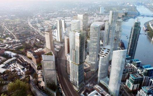 Апартаменты в новостройке на продажу в Великобритании (Англия, Лондон, Уондсворт — Комплекс AYKON Nine Elms)