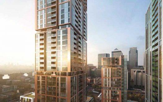 Апартаменты в новостройке на продажу в Великобритании (Англия, Лондон, Кэнери-Уорф — Комплекс Harbour Central)