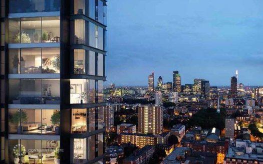 Апартаменты в новостройке на продажу в Великобритании (Англия, Лондон, Ислингтон — Комплекс 250 City Road)
