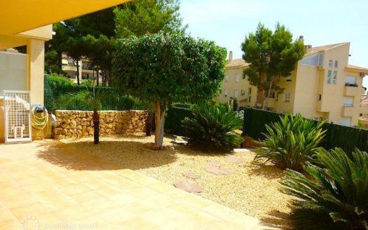 Апартамент с участком земли на продажу в Испании (Коста Бланка — Altea)