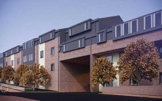 Студенческие апартаменты в новостройке на продажу в Великобритании (Англия, Лидс — Комплекс Trinity Hall)