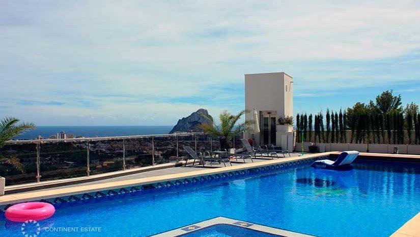Таунхаус с видом на море в аренду в Испании (Коста Бланка — Calpe)