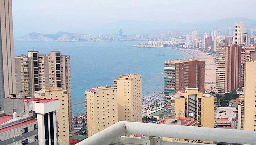 Квартира с видом на море в аренду в Испании (Коста Бланка — Benidorm)