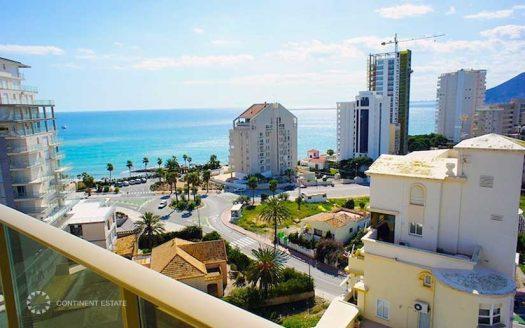 Апартамент рядом с пляжем в аренду в Испании (Коста Бланка — Calpe)