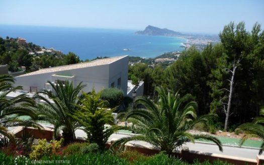 Вилла с панорамным видом на море на продажу в Испании (Коста Бланка — Altea)