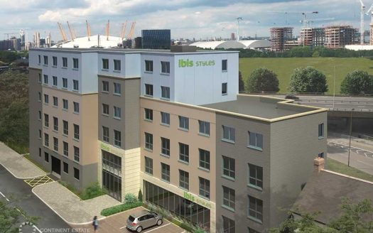 Отельные номера в строящемся отеле на продажу в Великобритании (Англия, Лондон — Отель Greenwich Ibis Styles Hotel)