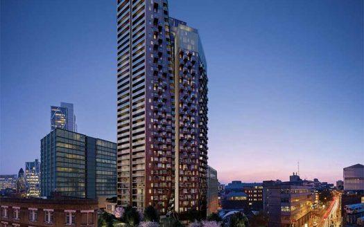 Апартаменты в новостройке на продажу в Великобритании (Англия, Лондон, Shoreditch — Комплекс The Stage)