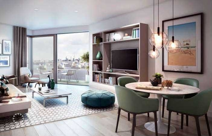 Апартаменты в новостройке на продажу в Великобритании (Англия, Лондон, Shoreditch — Комплекс Royal Wharf)