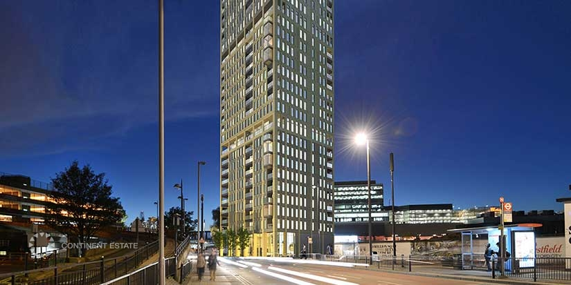 Квартиры в новостройке на продажу в Великобритании (Англия, Лондон, Стратфорд — Комплекс Stratford Central)