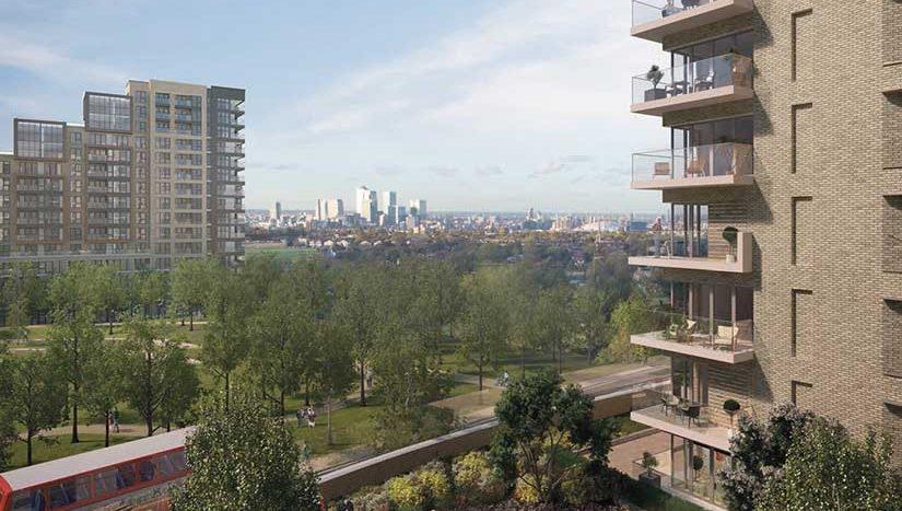 Апартаменты и дома в новостройке на продажу в Великобритании (Англия, Лондон, Гринвич — Комплекс Kidbrook Village)
