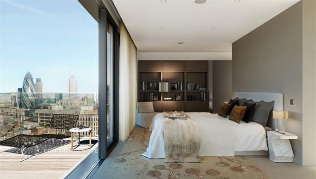Квартира на продажу в Великобритании (Англия, Лондон, Олдгейт — Комплекс Goodmans Fields)