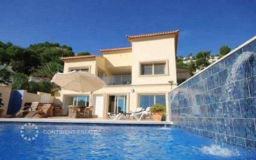 Вилла с видом на море на продажу в Испании (Коста Бланка — Moraira)