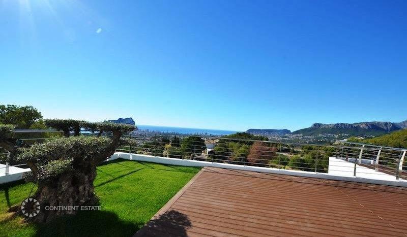 Элитная вилла на продажу в Испании (Побережье Коста Бланка — Calpe)