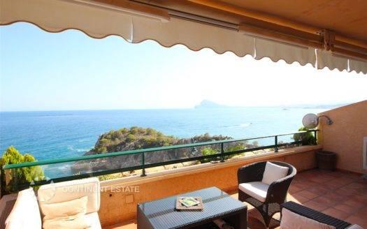 Квартира на первой линии от моря на продажу в Испании (Коста Бланка — Altea)