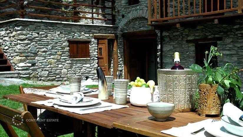 Шале в аренду на горнолыжном курорте в Италии (Пьемонт, Сестриере — Sestriere)
