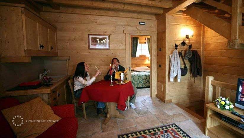 Шале в аренду в Италии (Ломбардия, Горнолыжный курорт Ливиньо — Livigno)