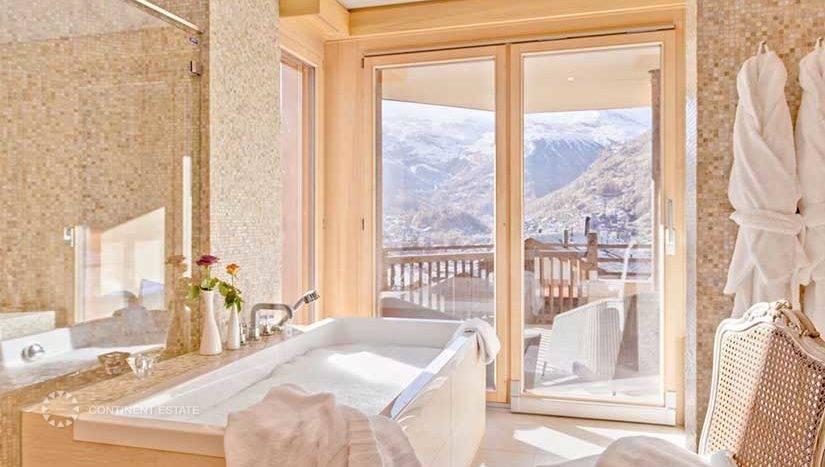 Шале в аренду на горнолыжном курорте в Швейцарии (Вале, Швейцарские Альпы — Zermatt)