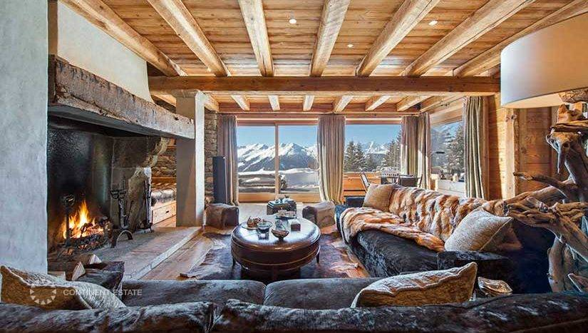 Шале в аренду на горнолыжном курорте в Швейцарии (Вале, Швейцарские Альпы — Verbier)