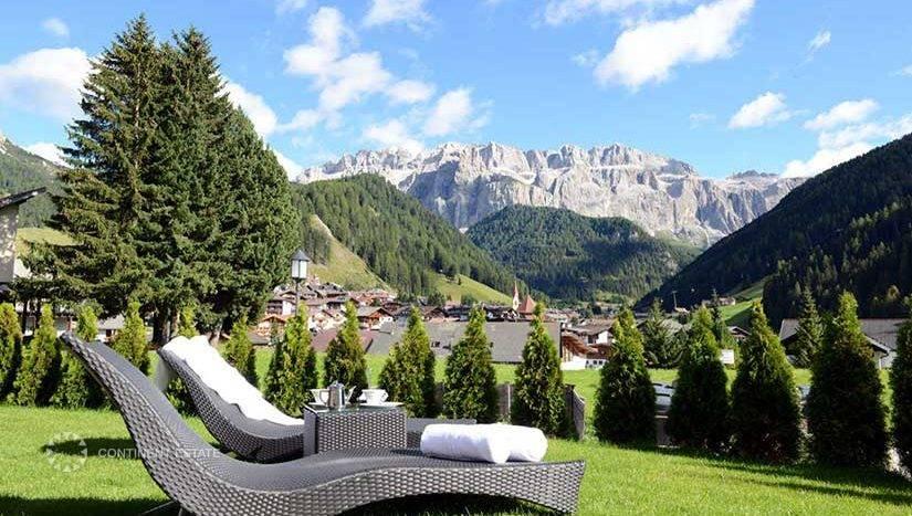 Шале в аренду на горнолыжном курорте в Италии (Доломитовые Альпы, Валь Гардена — Val Gardena)