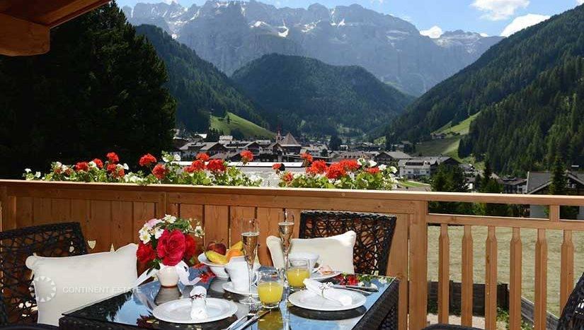 Шале в аренду на горнолыжном курорте в Италии (Больцано, Валь Гардена — Val Gardena)