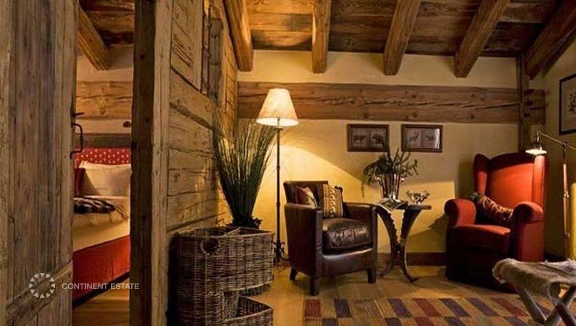 Шале в аренду на горнолыжном курорте в Италии (Валле-д'Аоста, Курмайор — Courmayeur)