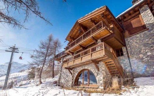 Шале в аренду на горнолыжном курорте во Франция (Овернь-Рона-Альпы, Французские Альпы, Валь-д'Изер — Val d'Isere)