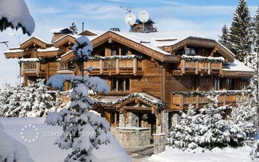 Шале в аренду на горнолыжном курорте во Франция (Овернь-Рона-Альпы, Французские Альпы, Куршевель — Courchevel)