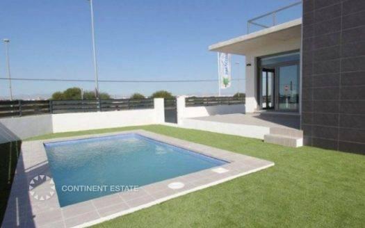 Новая вилла рядом с гольфом на продажу в Испании (Побережье Коста Бланка — Algorfa)