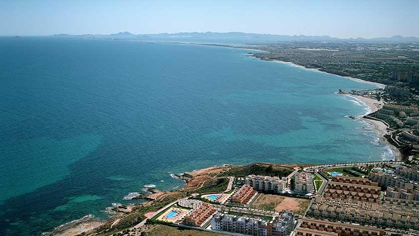 Популярные курорты и урбанизации Ориуэла Коста (Orihuela Costa)