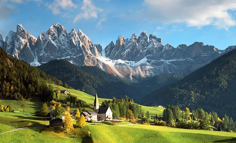 Доломитовые Альпы, Италия (Dolomites)