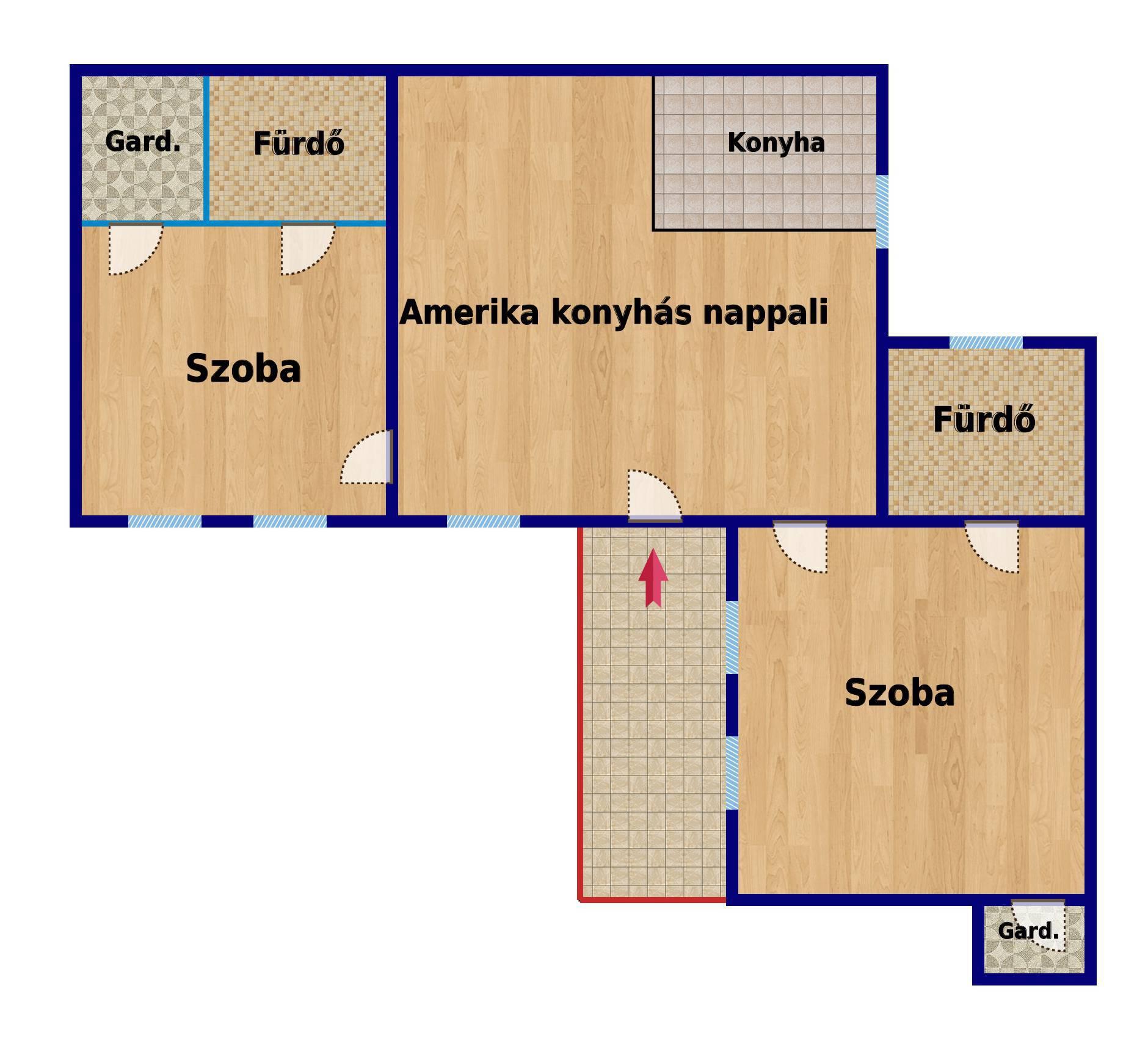 План апартамента