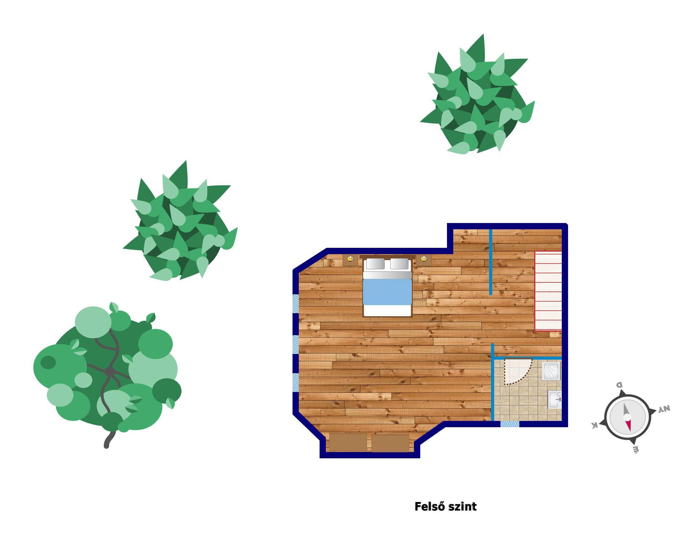 План 2-го этажа квартиры