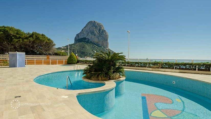 Новые апартаменты на первой линии на продажу в Испании (Побережье Коста Бланка, Кальпе — Calpe)
