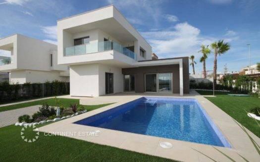 Новая вилла на продажу в Испании (Побережье Коста Бланка — Los Montesinos)