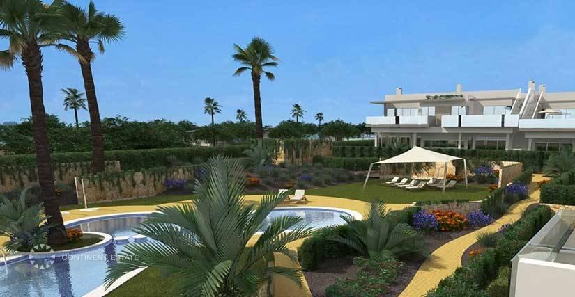 Новая квартира на продажу в Испании (Побережье Коста Бланка — Los Montesinos)