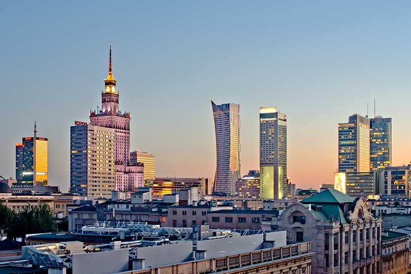 Недвижимость в Варшаве, Польша