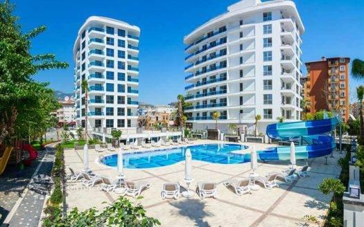 Апартамент в центре города на продажу в Турции (Анталия — Алания (центр) — Alanya)